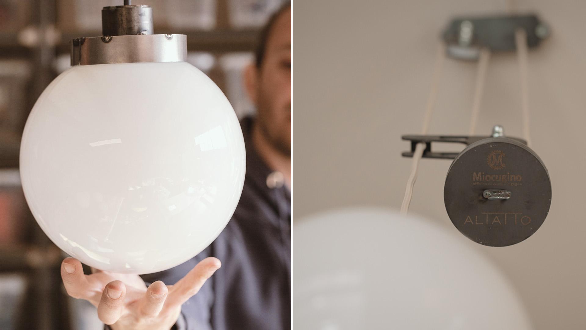 AL TATTO BISTROT MIOCUGINO LAMPADE