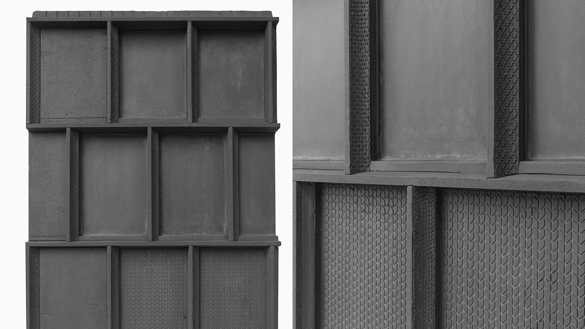 stampo architettura cnc laser texture