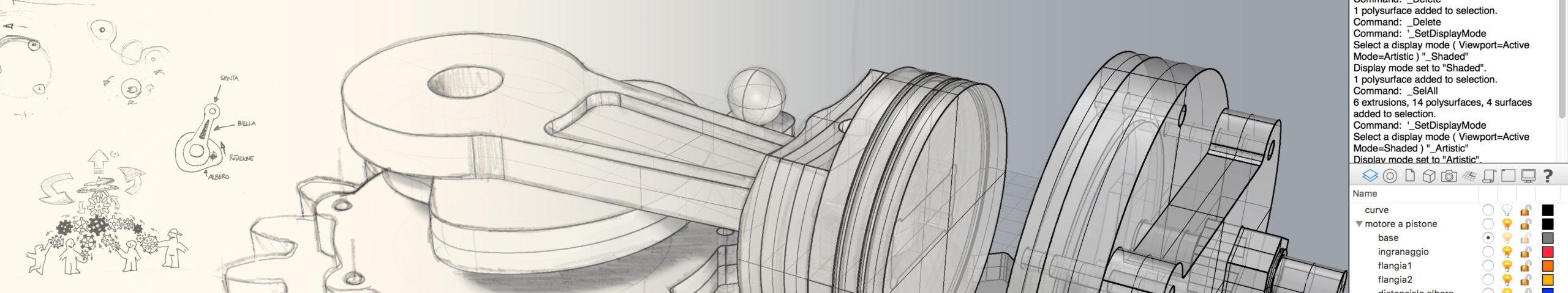 Cad Sketch Progettazione l'ingegno di Miocugino al servizio di tutti