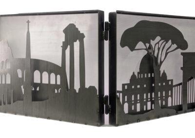 Fireplace Screen / Chiara Pranzo-Zaccaria