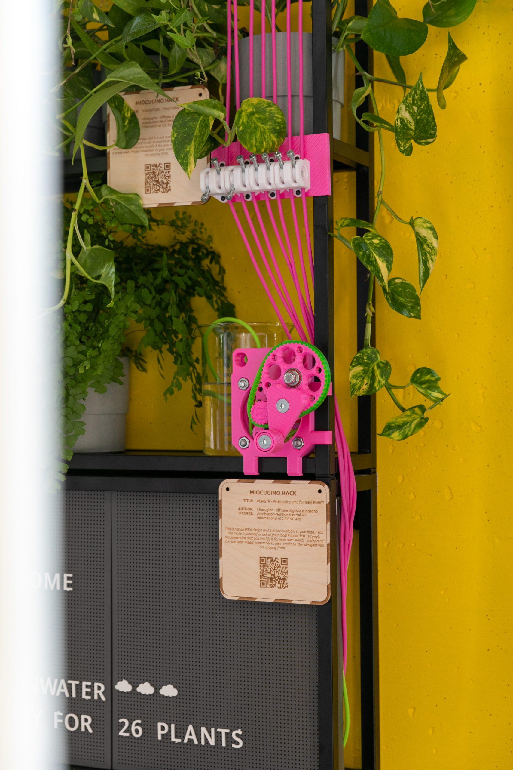 Miocugino IKEA Milano Design Week 2021 pompa peristaltica Perista